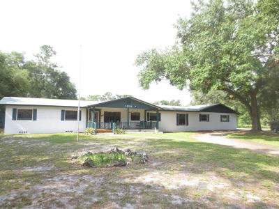Silver Springs Single Family Home For Sale: 14100 NE 46th Street