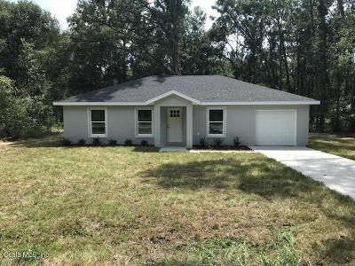 Belleview Single Family Home For Sale: 7040 SE 123rd Place