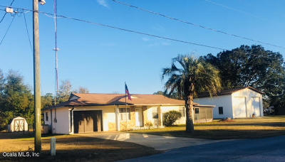 Belleview Single Family Home For Sale: 11891 SE 84th Avenue