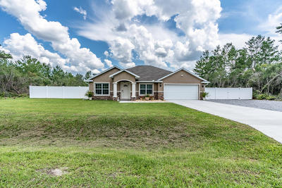 Ocala Single Family Home For Sale: 3892 SW 114th Street