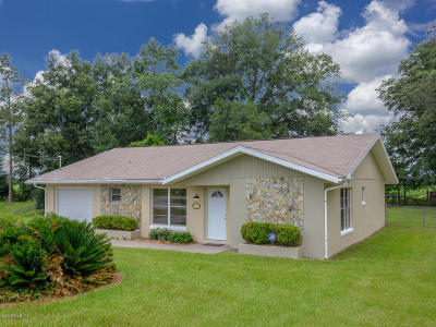 Dunnellon Single Family Home For Sale: 21271 SW Plantation Street