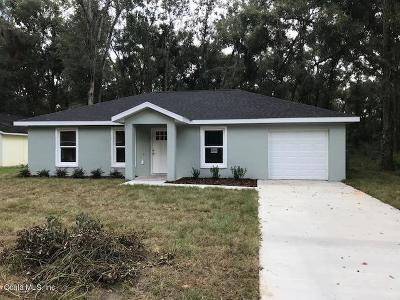 Belleview Single Family Home For Sale: 7044 SE 124th Street