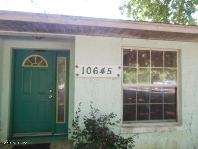 Ocklawaha Single Family Home For Sale: 10645 SE Hwy 464c