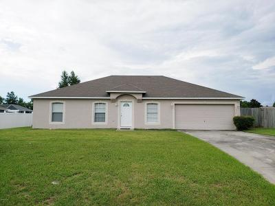 Ocala Single Family Home For Sale: 7009 SW 129th Street