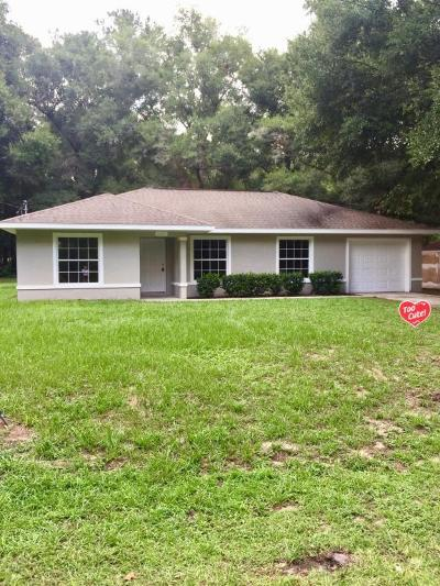 Ocala Single Family Home For Sale: 6115 NW 52 St Rd Road