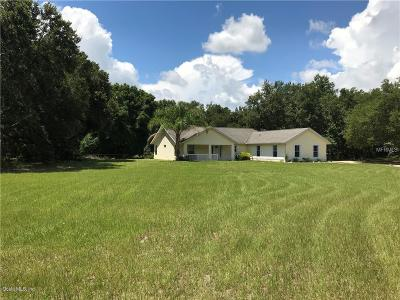 Marion County Single Family Home For Sale: 17108 SE 173rd Terrace Road