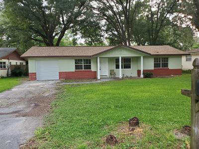 Ocala Single Family Home For Sale: 2017 NW 44th Place