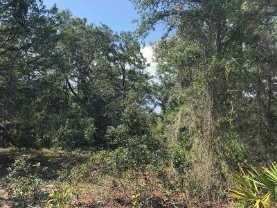 Williston FL Residential Lots & Land For Sale: $53,000