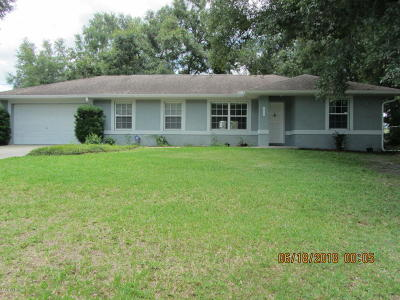 Ocala Single Family Home For Sale: 4620 SE 24th Street