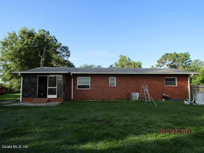 Belleview FL Single Family Home For Sale: $99,900