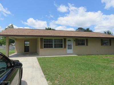 Belleview Rental For Rent: 11906 SE 72nd Court Road