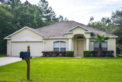Citrus Springs Single Family Home For Sale: 8525 N Spartan Drive
