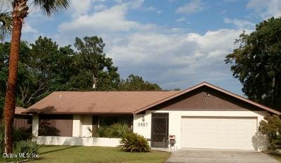 Citrus Springs Single Family Home For Sale: 9887 N Cortlandt Drive