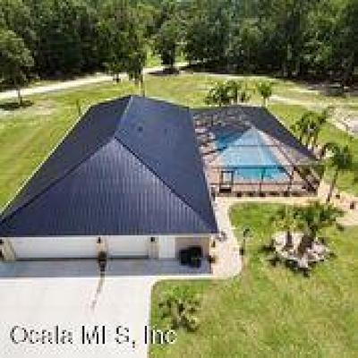 Ocala Single Family Home For Sale: 5060 SW 133rd Avenue