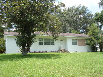 Ocala Single Family Home For Sale: 824 NE 12th Avenue