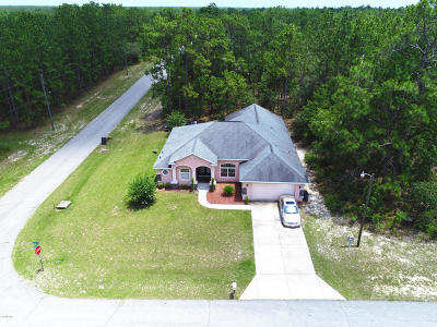 Ocala Single Family Home For Sale: 7580 SW 131st Lane