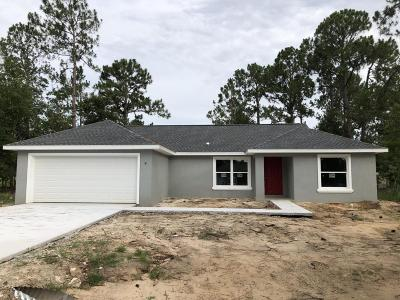 Ocala Single Family Home For Sale: 5 Pine Pass Trace