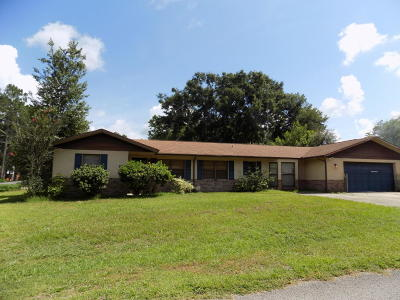 Ocala Single Family Home For Sale: 5885 NW 60th Street