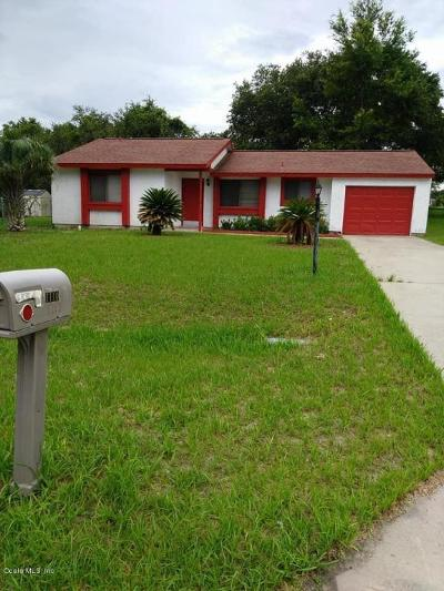 Ocala Single Family Home For Sale: 1110 Silver Road