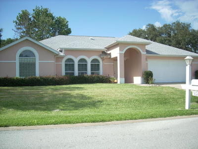 Ocala Palms Single Family Home For Sale: 5243 NW 25th Loop