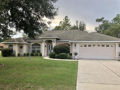 Ocala Waterway Single Family Home For Sale: 11490 SW 46th Avenue