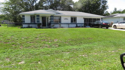 Cherry Wood Single Family Home For Sale: 10392 SW 62nd Terr Road