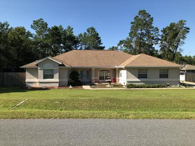 Ocala Single Family Home For Sale: 4790 SW 112th Street