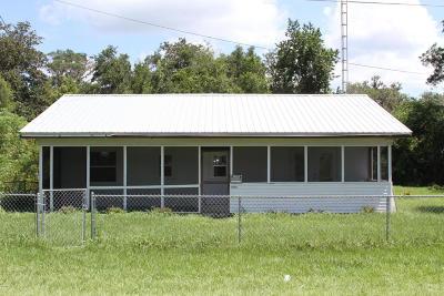 Ocklawaha Single Family Home For Sale: 13565 SE 118th Street