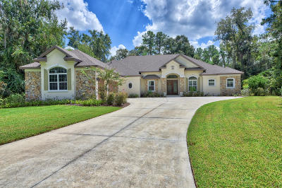 Ocala FL Single Family Home For Sale: $799,000