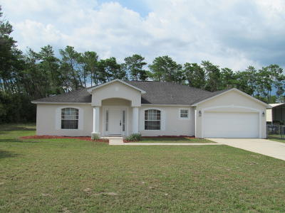 Ocala Waterway Single Family Home For Sale: 4521 SW 106th Place