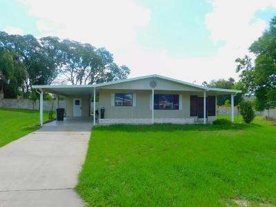 Pine Run Estate Single Family Home For Sale: 10197 SW 87th. Terrace
