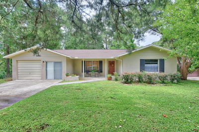 Dunnellon Single Family Home For Sale: 8583 SW 197th Court Road Road