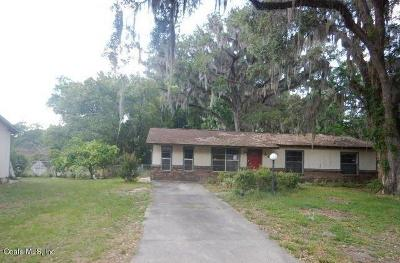 Belleview Single Family Home Pending: 5219 SE 113th Street