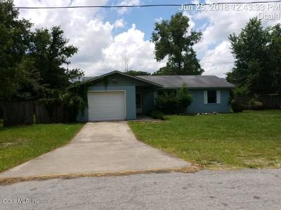 Ocala Single Family Home For Sale: 6940 SE 52nd Place