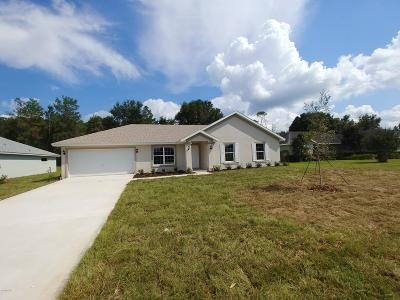 Marion Oaks North, Marion Oaks South, Marion Oaks Rnc Single Family Home For Sale: 15417 SW 34th Court Road