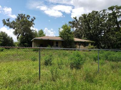 Dunnellon FL Single Family Home For Sale: $100,000