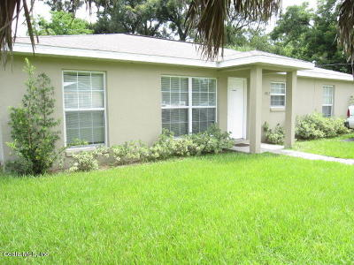 Ocala Single Family Home For Sale: 1812 NW 3rd Street