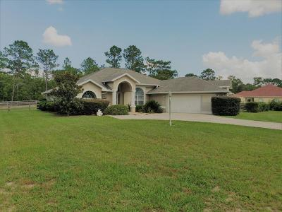 Citrus County Single Family Home For Sale: 5919 N Petunia Terrace