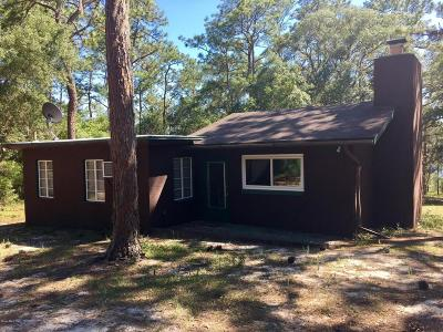 Ocklawaha Single Family Home For Sale: 15400 SE 55th Place Road