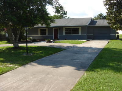 Belleview Single Family Home For Sale: 7389 SE 110th Street Road Road