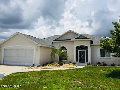 Ocala Palms Single Family Home For Sale: 5360 NW 25th Loop