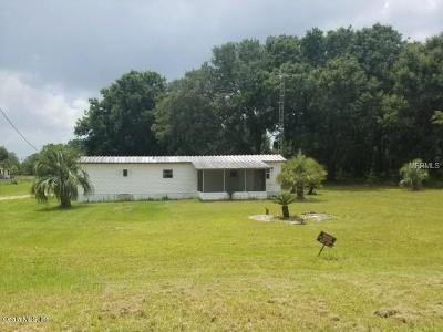 Weirsdale Mobile/Manufactured For Sale: 17682 SE 133rd Court