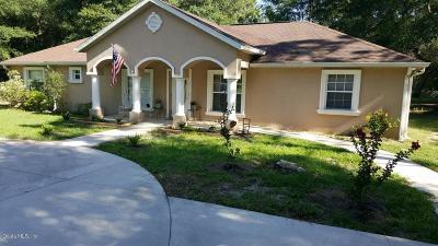 Bronson Single Family Home For Sale: 9550 NE 65th Lane