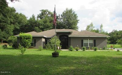 Reddick Single Family Home For Sale: 3000 NW 155th Street