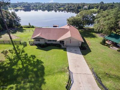 Ocklawaha Single Family Home For Sale: 11775 SE 167th Ave Road