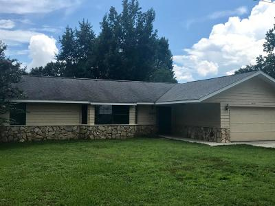 Ocala Single Family Home For Sale: 4430 SE 59th Street