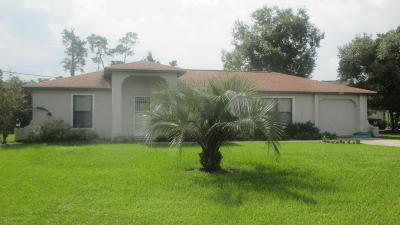 Ocala Single Family Home For Sale: 2970 SW 132nd Street