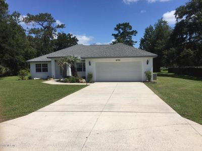 Ocala Single Family Home For Sale: 4745 NW 64th Street