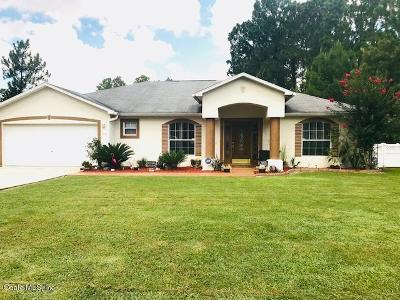 Marion Oaks North, Marion Oaks Rnc, Marion Oaks South Single Family Home For Sale: 12921 SW 77th Circle