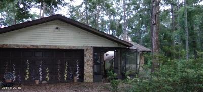 Belleview Single Family Home For Sale: 7220 SE 124th Lane
